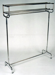 Garment Rack with Double Hat Rack - Model #: CS1074