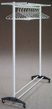 Aluminum Wardrobe Racks with Wheels