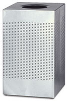 Stainless Steel Perforated Trash Cans